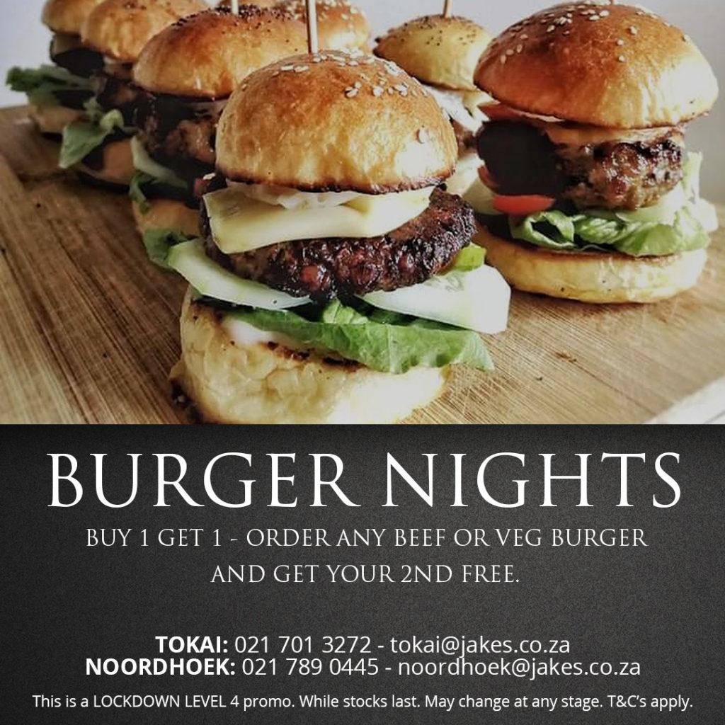 JAKES Burger Nights